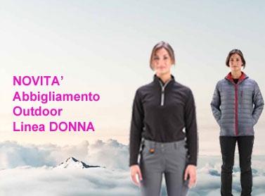 Abbigliamento Outdoor Donna