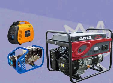 Generatori di corrente portatili Ama-Honda