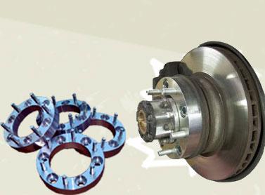 Distanziali ruota in Duralluminio