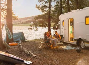 Campeggio e Trekking