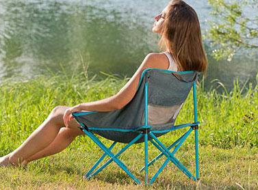 Sedie pieghevoli da campeggio