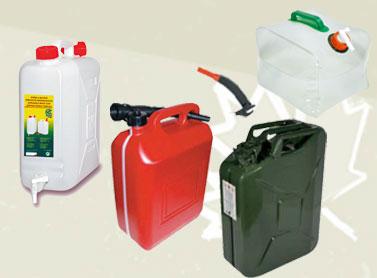 Taniche Acqua e Carburante