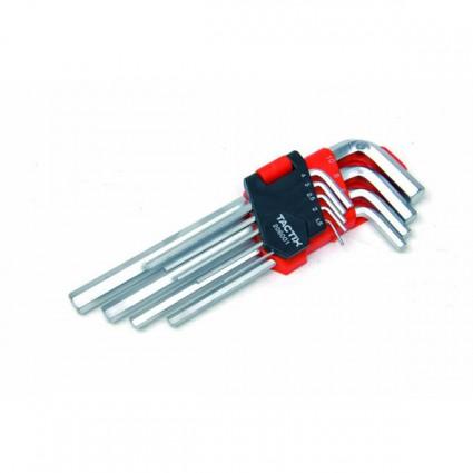 Set chiavi esagolali Tactix 9 pcs