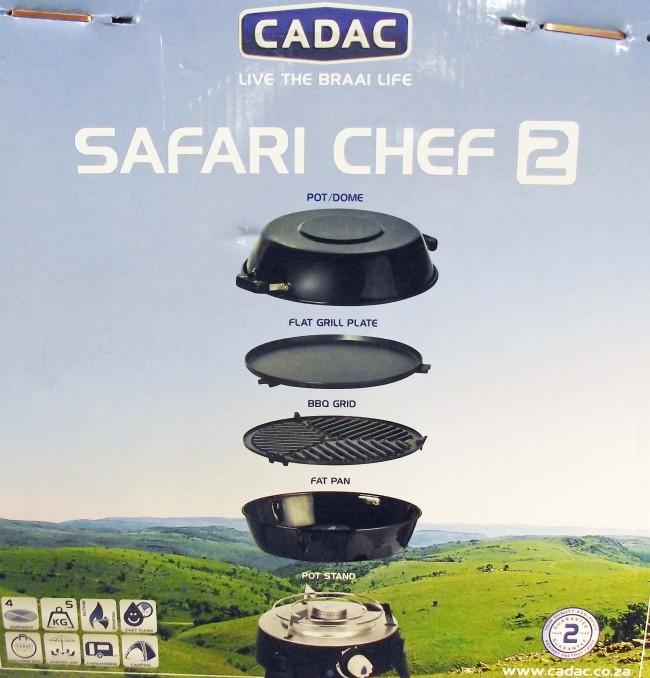 Barbecue portatile a gas cadac safari chef 2 barbecue cadac barbecue bbq pentole cucina - Barbecue portatile a gas ...