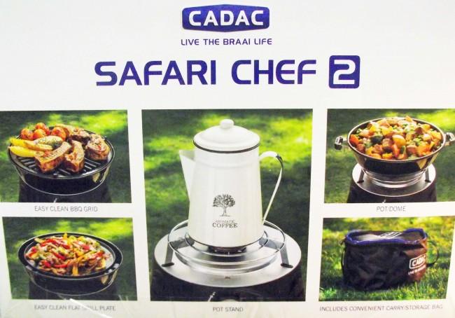 Barbecue portatile a gas cadac safari chef 2 barbecue - Barbecue a gas portatile ...