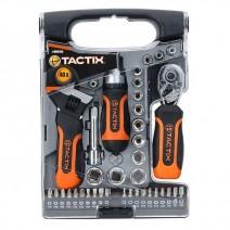 Set miniutensili con chiave regolabile Tactix 40 pezzi